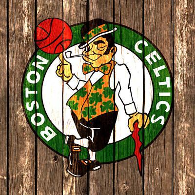 The Boston Celtics 2a Art Print by Brian Reaves