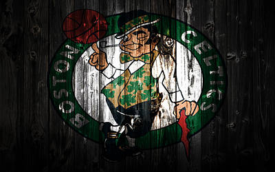 The Boston Celtics 5c Art Print by Brian Reaves