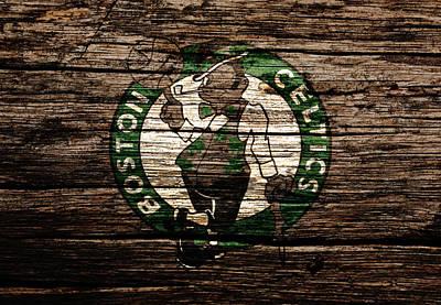 River Jordan Mixed Media - The Boston Celtics 6f by Brian Reaves