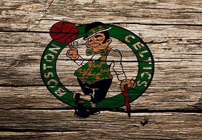 The Boston Celtics W1 Art Print by Brian Reaves