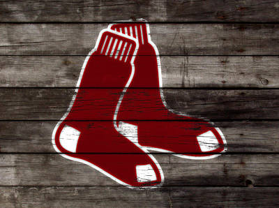 The Boston Red Sox W6   Art Print