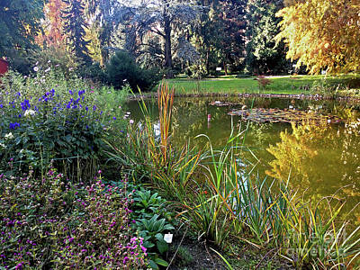 Photograph - The Botanical Garden Zagreb #3 by Jasna Dragun