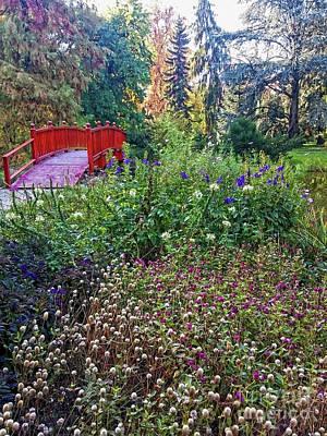 Photograph - The Botanical Garden Zagreb #6 by Jasna Dragun