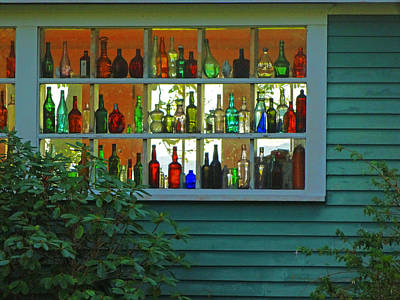 Photograph - The Bottle Collector by Jacqueline  DiAnne Wasson