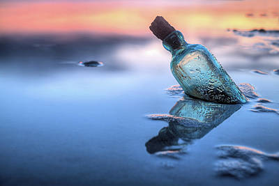 Photograph - The Bottle by JC Findley