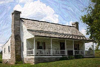 The Bottom House  - Perryville Ky Art Print by Thia Stover
