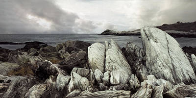 Print featuring the photograph The Boulder Breach by Robin-Lee Vieira