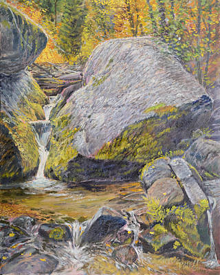 Painting - The Boulder by Steve Spencer