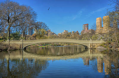 The Bow Bridge Print by June Marie Sobrito