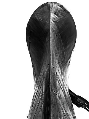 Photograph - The Bow Bw by Tim Richards