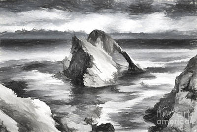 Photograph - The Bow Fiddle Rock by Diane Macdonald