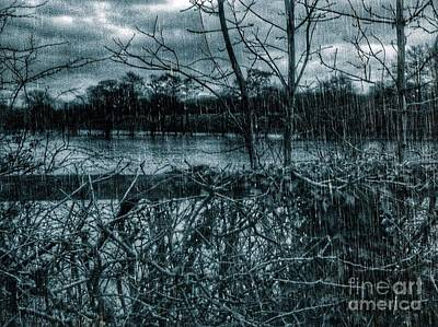 Photograph - The Boxing Day Floods by Joan-Violet Stretch
