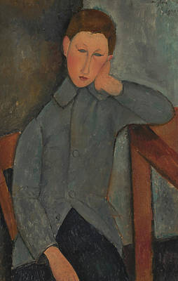 Painting - The Boy by Amedeo Modigliani
