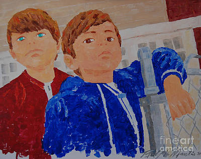 Painting - The Boys by Art Mantia