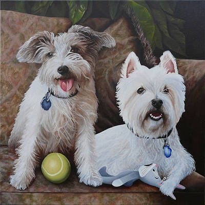 Painting - The Boyz by Vic Ritchey
