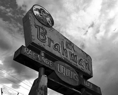 Photograph - The Brahman Bw Work One by David Lee Thompson