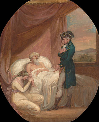 Painting - The Brahmin Committing His Daughter Coraly To The Care Of Blandford by Thomas Kirk