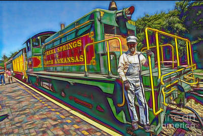 The Brakeman Art Print