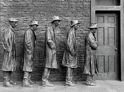 Photograph - The Bread Line by Allen Beatty