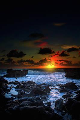 Beauty Mark Photograph - The Break Of Dawn by Mark Andrew Thomas