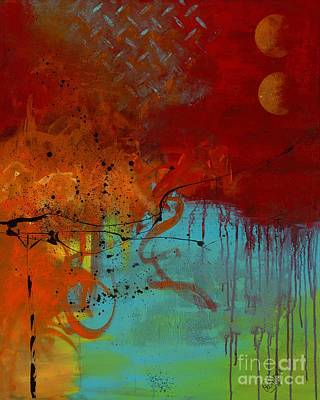 Drip Painting - The Breaking Point by Aramis Hamer