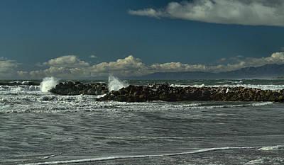Photograph - The Breakwater by Michael Gordon