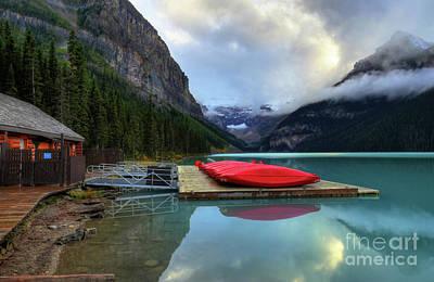 Fairmont Photograph - The Breathtakingly Beautiful Lake Louise IIi by Wayne Moran