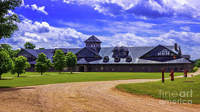 Photograph - The Breeding Barn by Scenic Vermont Photography
