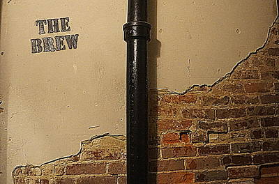 Photograph - The Brew Wall by Kathy Barney
