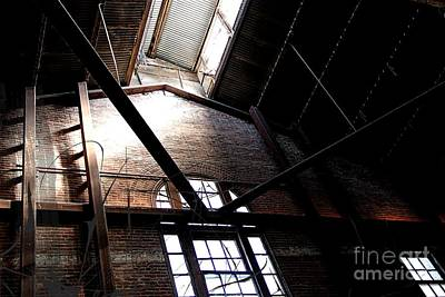 Photograph - The Brewery Building by Jenny Revitz Soper