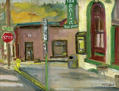 Painting - The Brick #2 by Dan McGibbon