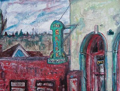 Painting - The Brick   by Dan McGibbon