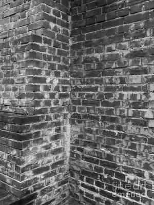 Photograph - The Brick Wall by Erika H
