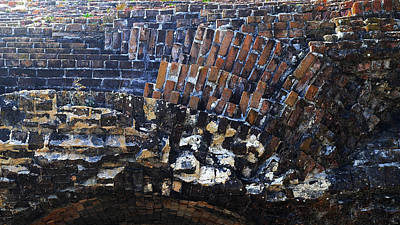 Photograph - The Bricks Of Ft. Pickens by George Taylor