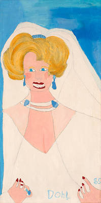 Painting - Princess Diana by Don Larison