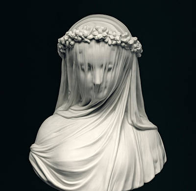 Marble Photograph - The Bride by English School