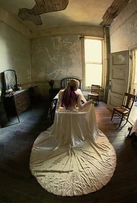 Photograph - The Bride IIi - Preston Castle by Eleanor Caputo