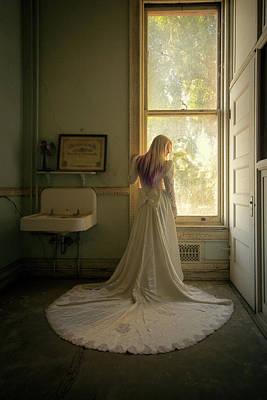 Photograph - The Bride - Preston Castle by Eleanor Caputo