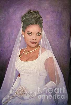 Painting - The Bride by Samuel Daffa