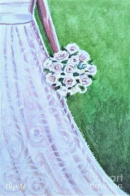Painting - The Bride's Bouquet by Elizabeth Robinette Tyndall