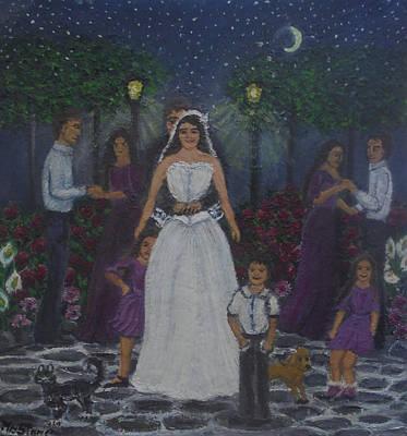 The Bride's Dance Original by Petra Theodoridou