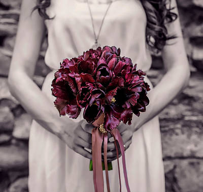 Photograph - The Bridesmaid by Mountain Dreams