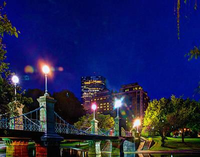 Photograph - The Bridge 7634 by Jeff Stallard