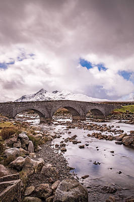 Photograph - The Bridge At Sligachan On Skye by Neil Alexander