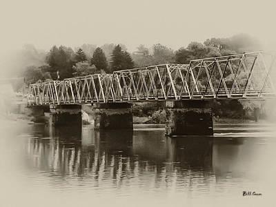 New At Digital Art - The Bridge At Washingtons Crossing by Bill Cannon
