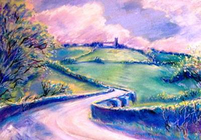 The Bridge Below Hacketstown  Print by Trudi Doyle