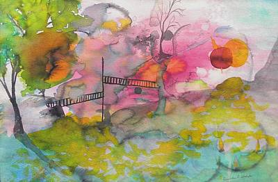 Creative Passages Painting - The Bridge by Cassandra Donnelly