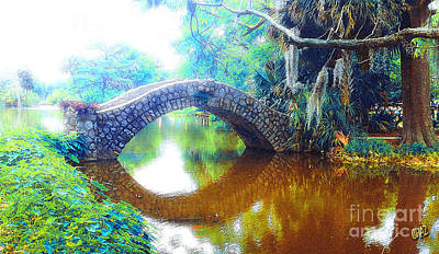 Painting - The Bridge by CHAZ Daugherty