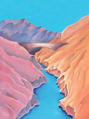 Painting - The Bridge by Elizabeth Lock