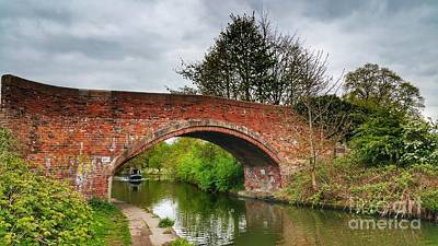 Photograph - The Bridge by Isabella F Abbie Shores